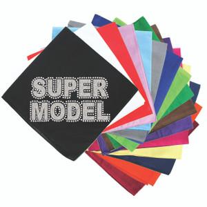 Super Model  (Silver) - Bandanna