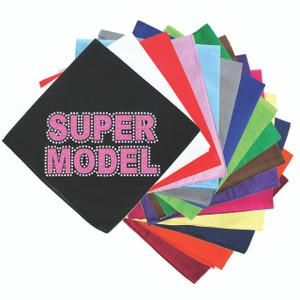Super Model  (Pink) - Bandanna