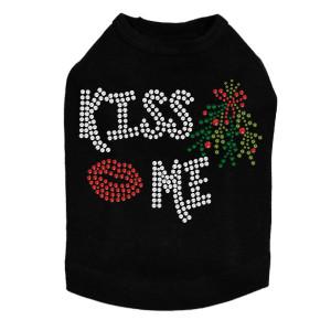 Kiss Me under the Mistletoe - Dog Tank
