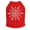 Extra Large Snowflake - Red Dog Tank