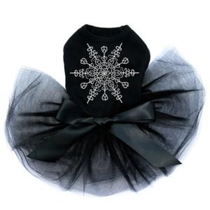Extra Large Snowflake - Black Tutu
