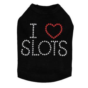 I Love Slots - Dog Tank