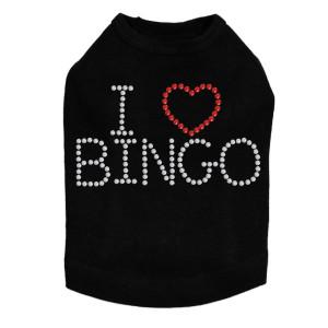 I Love Bingo - Dog Tank