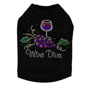 Wine Diva #2 - Dog Tank