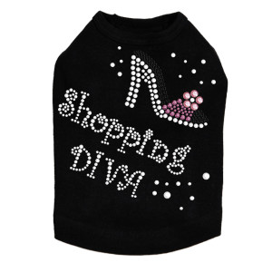 Shopping Diva High Heel Shoe Dog Tank