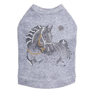Horse with Stars & Moon Dog Tank
