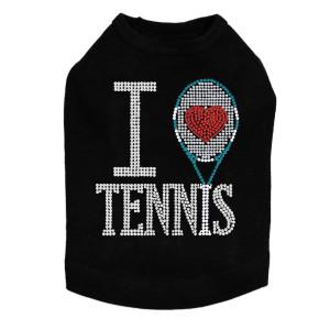 I Love Tennis - Dog Tank