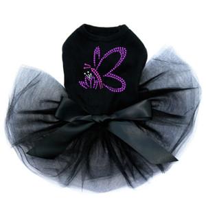 Pink & Purple Nailhead Butterfly Tutu