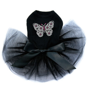 Silver Nailhead Butterfly Tutu