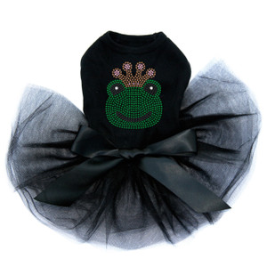 Frog with Pink Crown Tutu