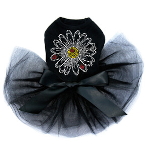 Large Daisy with Lady Bugs dog tutu for large and small dogs.