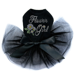 Flower Girl dog tutu for large and small dogs.