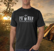 Or, it would be perfectly acceptable to wear a Po' Man shirt while camping. That would be cool too.
