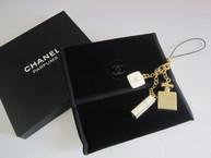 Perfume Compact Lipstick Charm / Phone Strap / Keychain
