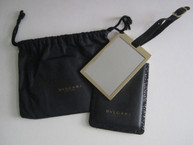 Handbag Mirror with Pouch and Drawstring Bag
