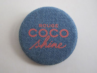 Rough Coco Shine Blue Demin Pin