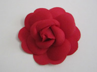 Red Camellia Flower Sticker