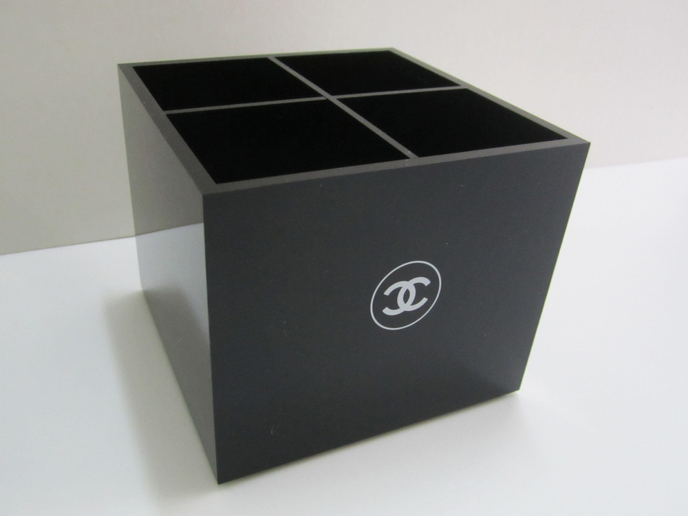 Brush Holder With 4 Compartments / Vanity Box / Makeup
