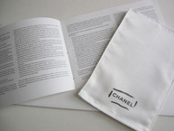 Cleaning Cloth / Polishing Glove with Bag Care Instruction Booklet
