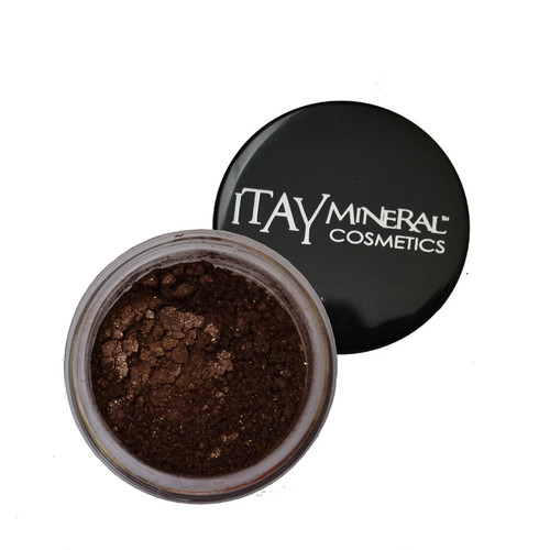 Deeply rich brown color with touches of golden sparkle throughout, works great for that smoky-eye effect