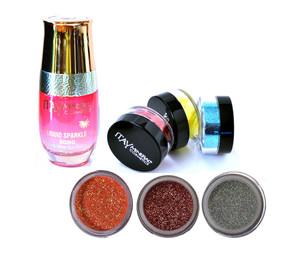 Shine Bright   Glitter Kit - coral