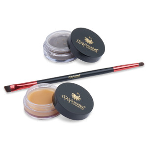 Brow Building Fiber  Set - Medium Brown