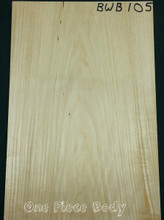 Basswood Body Shown in the picture as surfaced so you can see it better Pieces will be shipped rough unless otherwise specified.