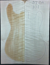 Drop Top, curly flame maple, Guitar, tonewood, DT2A101 - American