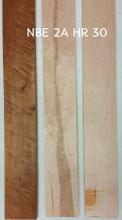 NBE2AHR1x4x30ROAST Neck Birdseye torrefied, HONEY ROASTED maple luthier wood NBE 2A HR 30 This picture is just to show the HONEY ROASTED on the left compared to the  Natural Heartwood in the middle, and the Natural White on the right. You would be buying the one on the LEFT.