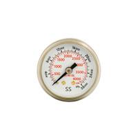 """Steel Replacement Flowmeter Gauge 1 1/2"""" x 4000 PSI (CBM) Non UL (1424-0001)"""