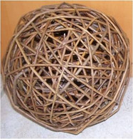 "Decorative willow balls 16""D"