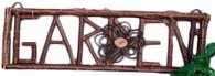 """Twig GARDEN frame 26""""x9""""H (min 2)"""