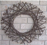 "Round twig wreath/trellis wreath/trellis 23""D (min 2)"