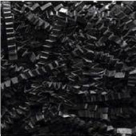 40 lb Spring Fill Crinkle Cut paper  - Black color