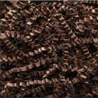 Springfill 10 Lb. Spring Fill Crinkle Cut paper - Chocolate Brown color