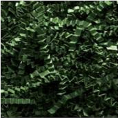 40 lb Spring fill, Crinkle Cut paper - Forest Green color
