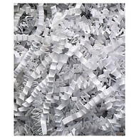 10 lb Spring fill Crinkle Cut - White