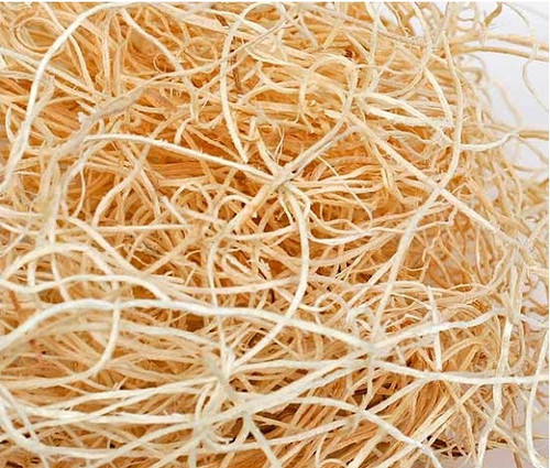 """Natural Wood Excelsior - Natural Color - 55 lb bale, Made in the USA. Natural Wood Excelsior is used for shipping, packing, or decorating baskets. This product is also known as """"Wood Wool"""" or """"American Moss"""". All natural & 100% biodegradable premium grade wood excelsior is made in the USA. Made from non-toxic and non-allergenic Aspen wood fibers. Not recommended for supporting delicate products like chocolates or soft cheeses Apex Elegance Wholesalers / Distributors of Natural Wood Excelsior"""