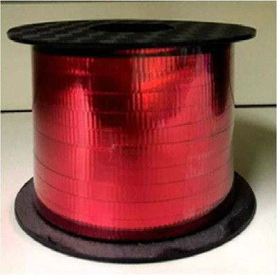 Metallic Curling Ribbon - 250 yards - Red