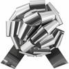 "4"" Metallic Pull Bows - 50 bows/case - Silver"