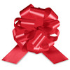 """4"""" Matte Pull Bows - 50 bows/case - Red"""