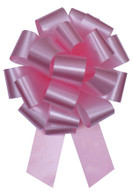 "5"" Matte Pull Bows - 50 bows/case - Pink"