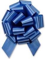 "5"" Matte Pull Bows - 50 bows/case - Royal Blue"