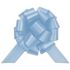 """8"""" Matte Pull Bows - 50 bows/case - Blue"""