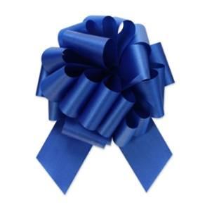 "8"" Matte Pull Bows - 50 bows/case - Royal Blue"