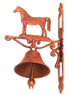 "Cast Iron Horse door bell 14""x8""x4.5""(min.2)"