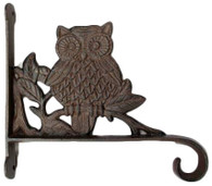 "Cast Iron Owl hook 11""x10"" (min.2)"
