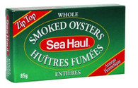 Sea Haul smoked Oysters 85 gr., 24/cs