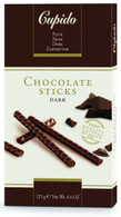 Cupido chocolate sticks - Extra Dark 125 gr. 12/cs