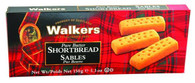 Walkers Pure Butter Shortbread fingers 150 gr., 24/cs